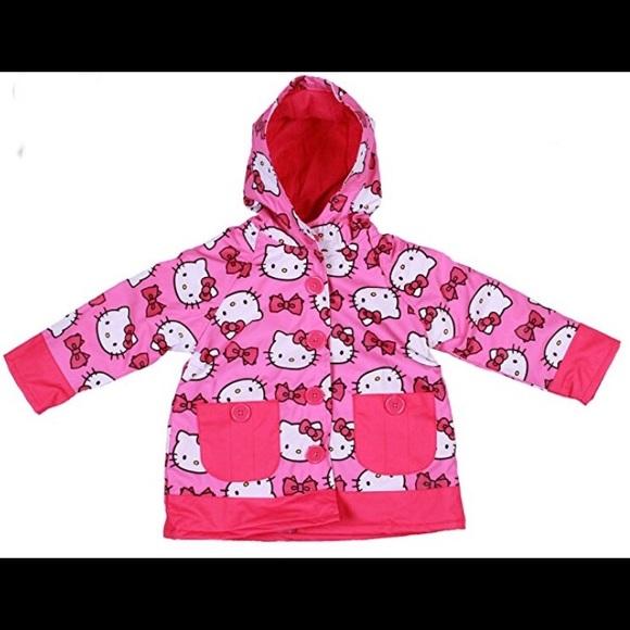 4e49da776 Western Chief Jackets & Coats | Hello Kitty Toddler Raincoat | Poshmark
